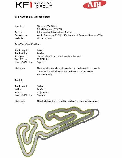[Fact Sheet] KF1 Karting Circuit Fact Sheet _1 (424x600)
