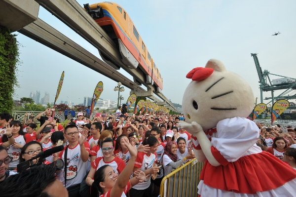 Hello Kitty Singapore Run 2014, Credit - Pink Apple  (17) (600x399)
