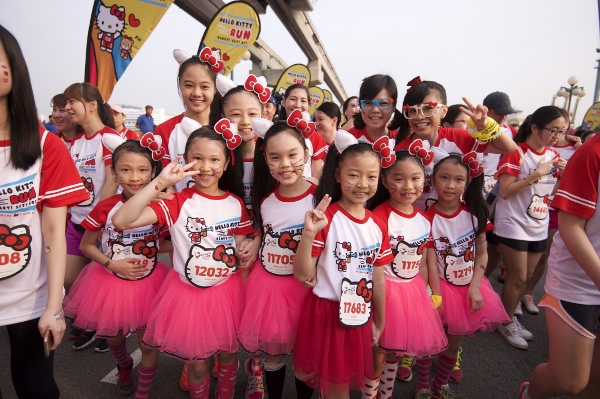 Hello Kitty Singapore Run 2014, Credit - Pink Apple  (2) (600x399)