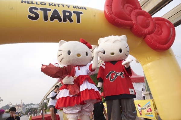 Hello Kitty Singapore Run 2014, Credit - Pink Apple  (8) (600x399)