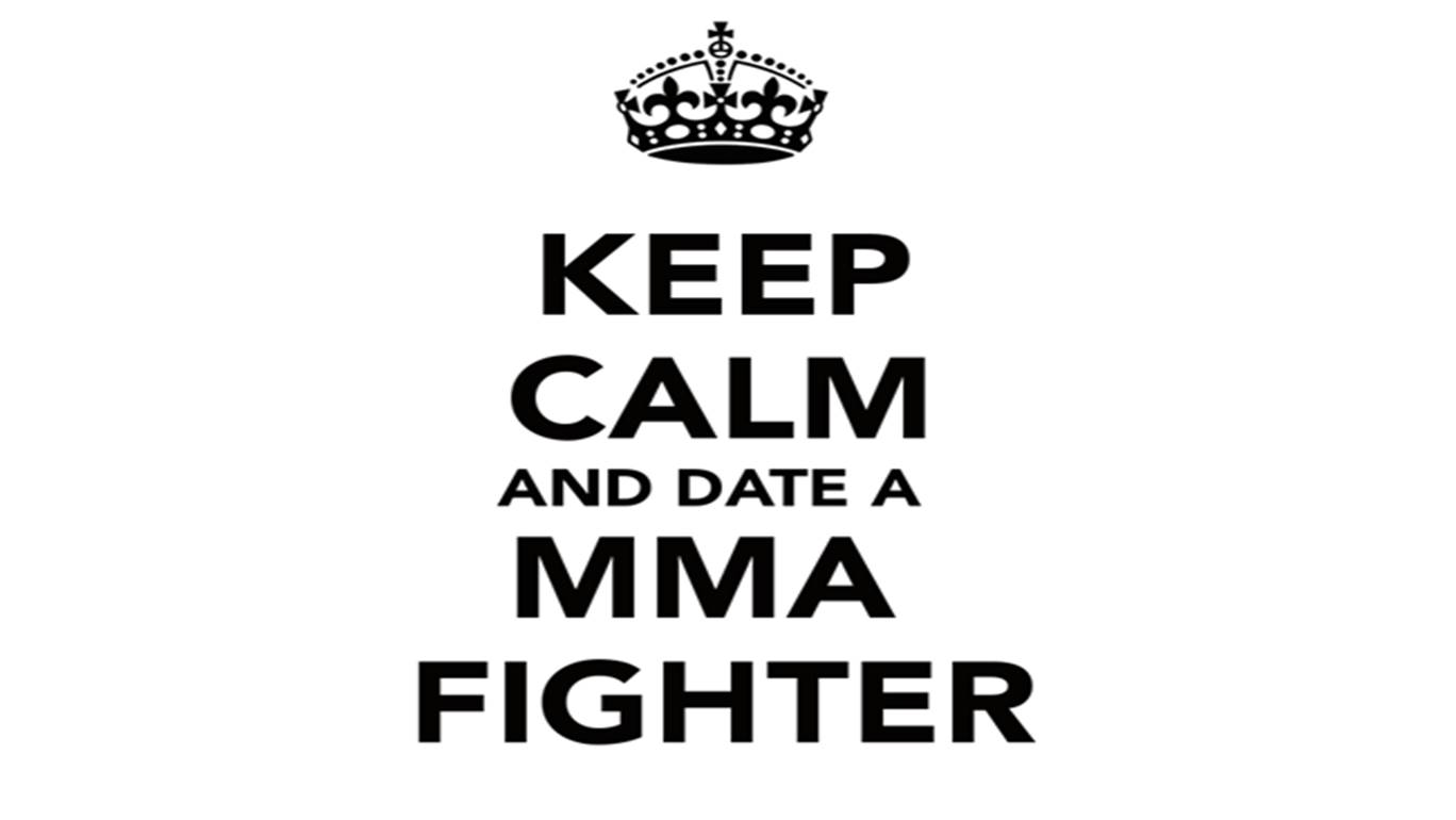 Dating a cage fighter