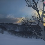 My white Christmas in Niseko