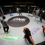 Gearing up for the throwdown: Behind-the-scenes at ONE FC: BATTLE OF LIONS
