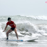 Surfin' in Bali with Drea